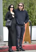 Krysten Ritter and Adam Granduciel are spotted out together for the first time since announcing pregnancy in Los Angeles