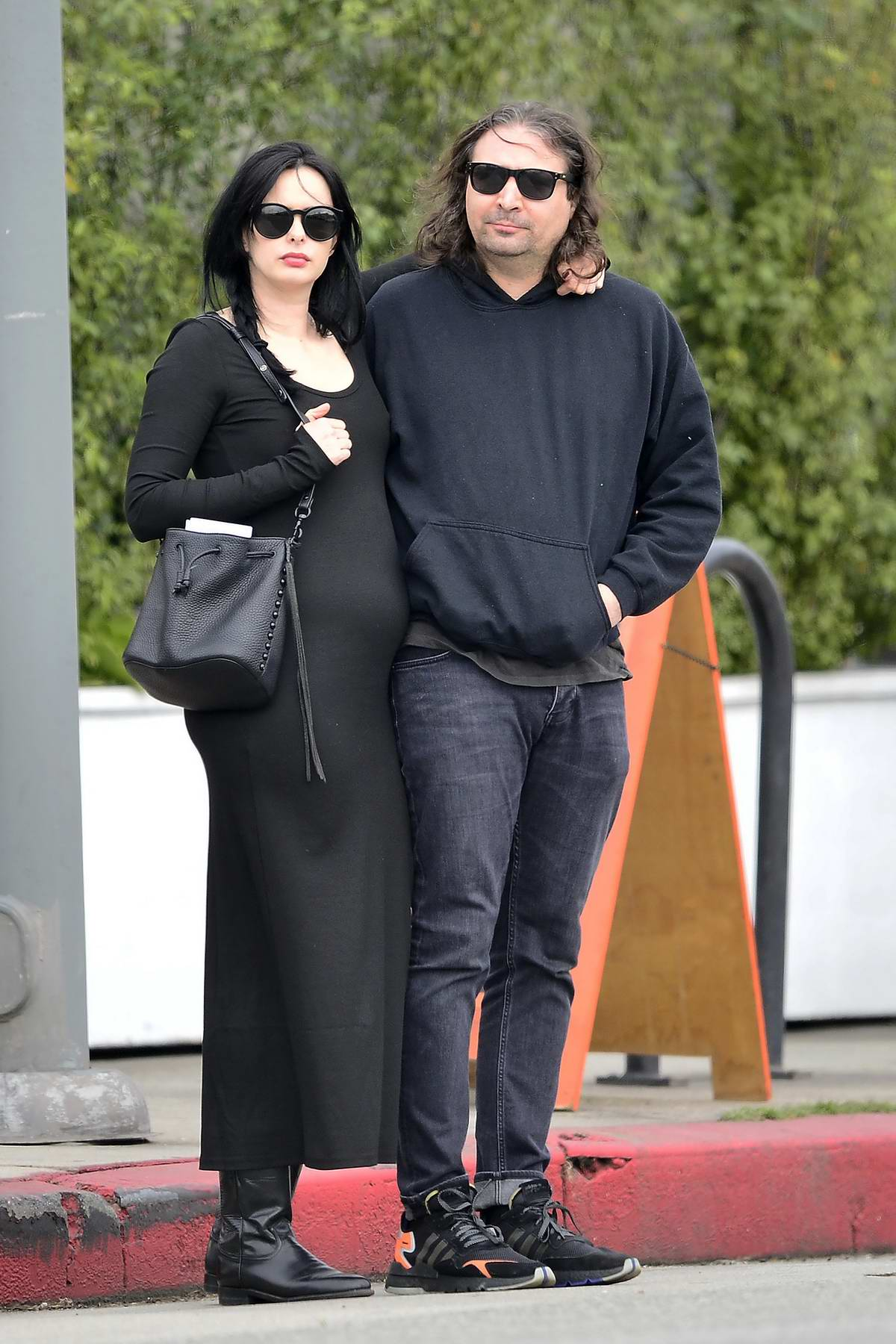 Krysten Ritter and Adam Granduciel are spotted out ...