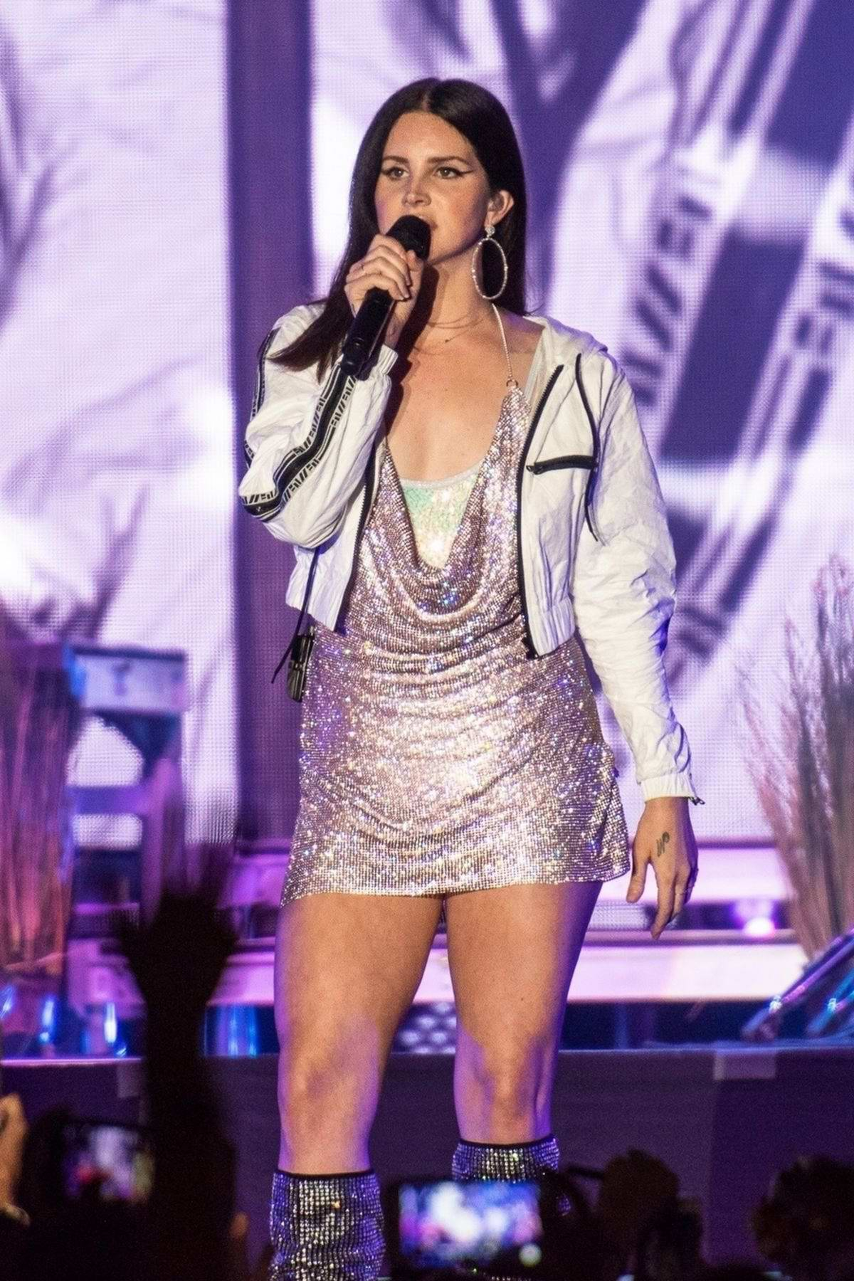 Lana Del Rey performs at Buku Arts + Music Fesival in New Orleans
