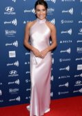 Lea Michele attends the 30th Annual GLAAD Media Awards at The Beverly Hilton Hotel in Beverly Hills, California