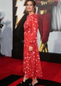 Leighton Meester attends Shazam! World Premiere held at the TCL Chinese Theatre in Los Angeles