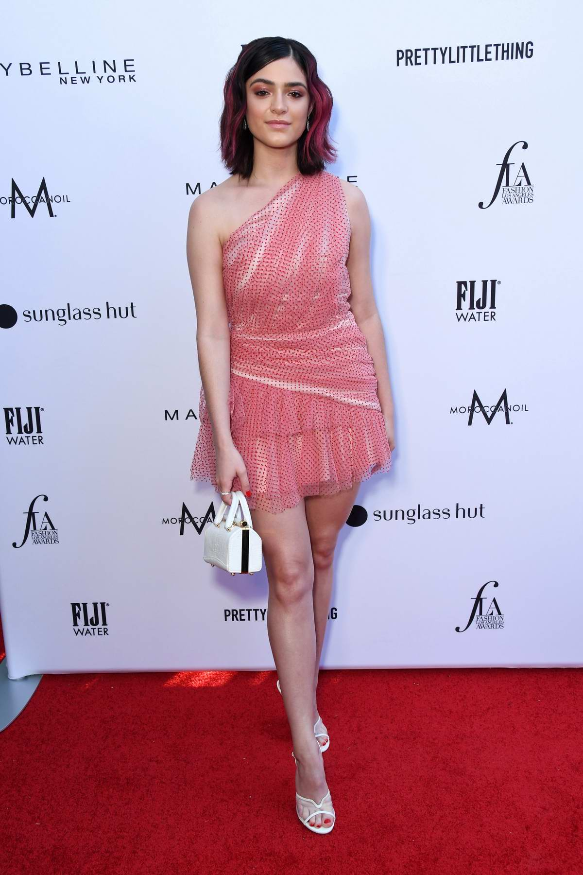 Luna Blaise attends The Daily Front Row's 5th Annual Fashion Awards at The Beverly Hills Hotel in Los Angeles