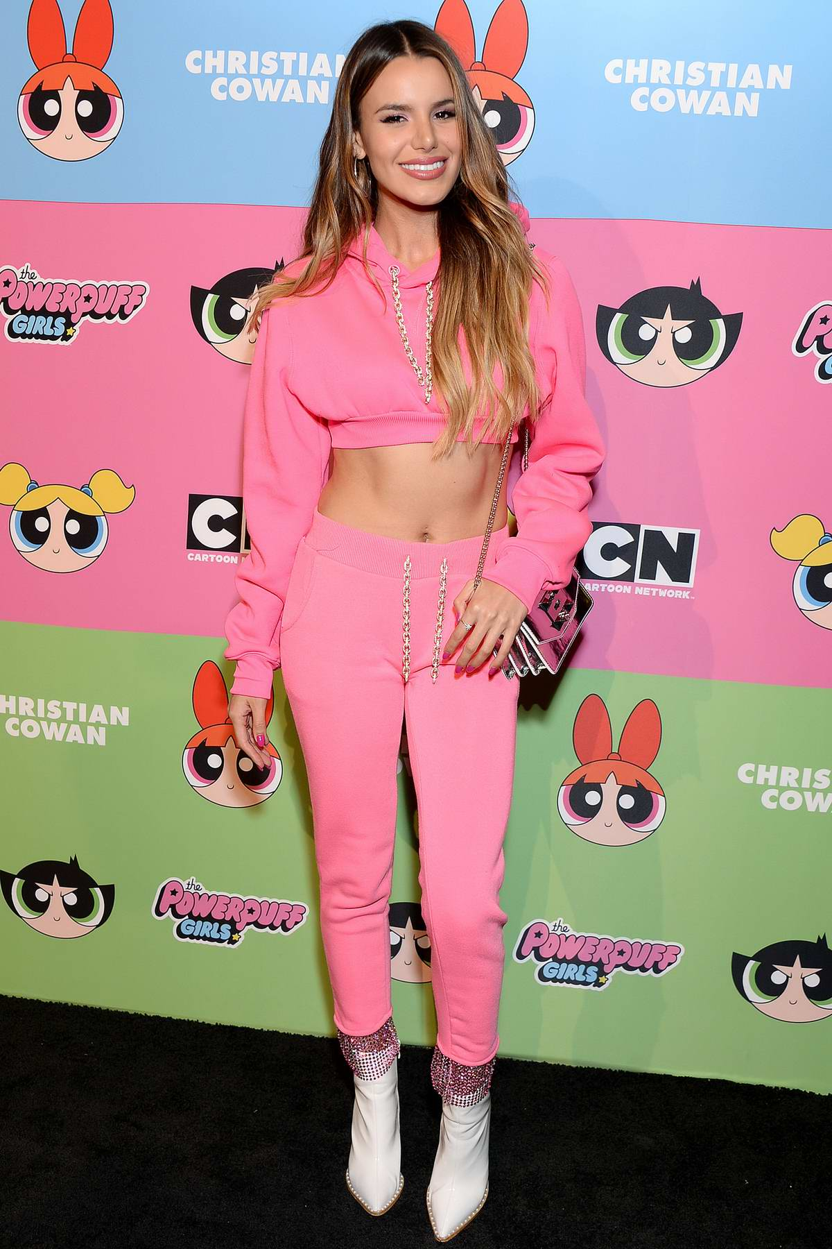 Madison Reed attends Christian Cowan x Powerpuff Girls Runway Show in Los Angeles