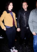 Mary Elizabeth Winstead and Ewan McGregor steps out for a romantic date night in Los Angeles
