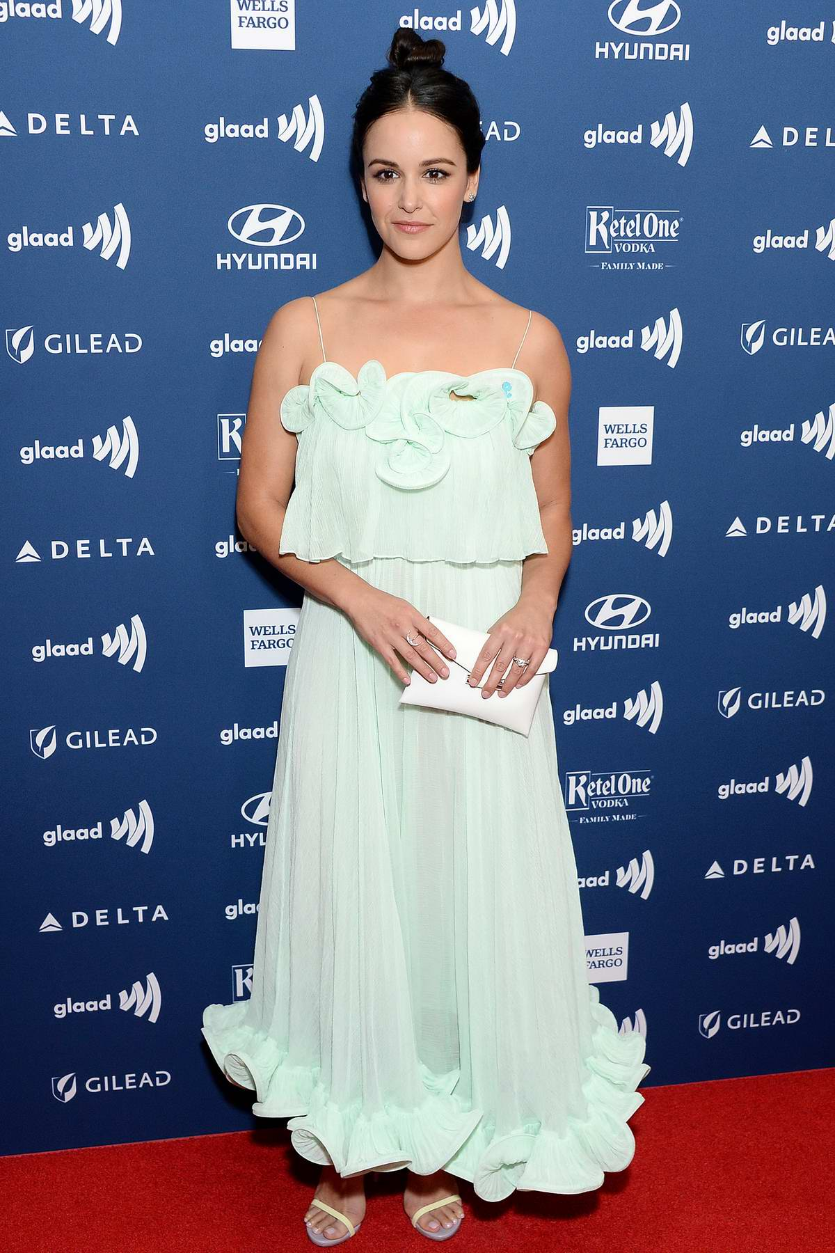 Melissa Fumero attends the 30th Annual GLAAD Media Awards at The Beverly Hilton Hotel in Beverly Hills, California