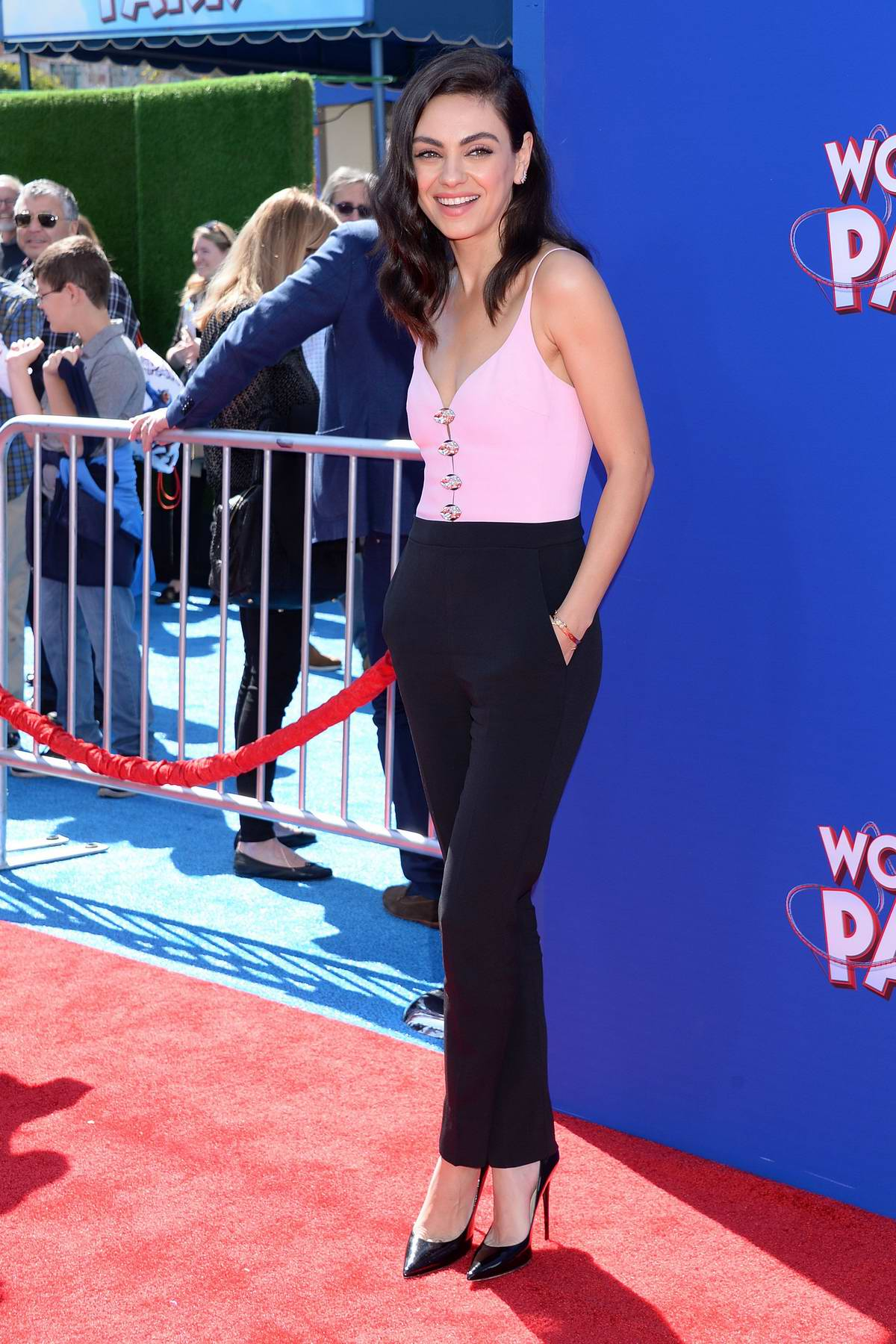Mila Kunis attends 'Wonder Park' Premiere at the Regency Village Theatre in Westwood, Los Angeles