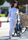 Mila Kunis keeps it comfy while making a trip to her favorite nail salon in Studio City, Los Angeles