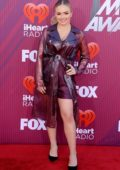 Natalie Alyn Lind attends the 2019 iHeartRadio Music Awards at Microsoft Theater in Los Angeles