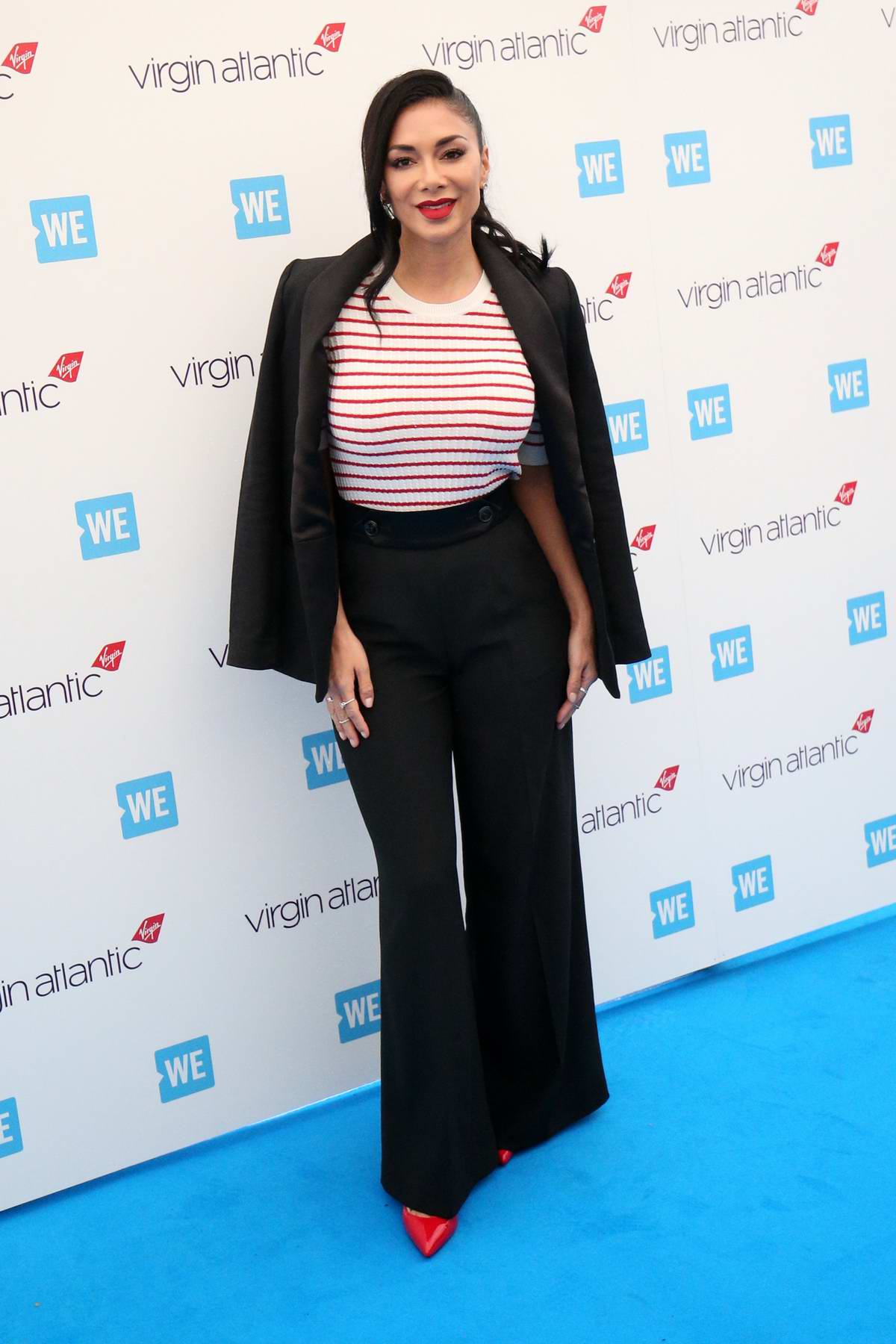 Nicole Scherzinger attends the WE Day UK 2019 at The SSE Arena in London, UK