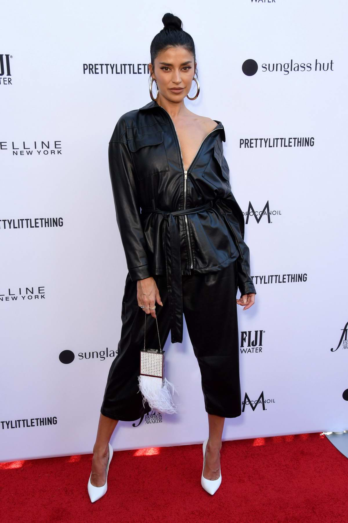 Nicole Williams attends The Daily Front Row's 5th Annual Fashion Awards at The Beverly Hills Hotel in Los Angeles