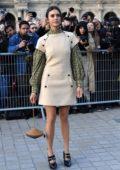 Nina Dobrev attends the Louis Vuitton show during Paris Fashion Week F/W 2019/20 in Paris, France