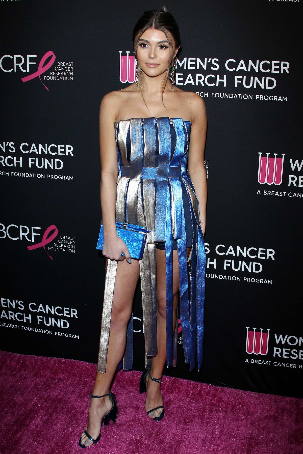Olivia Jade Giannulli attends The Women's Cancer Research Fund's An Unforgettable Evening in Beverly Hills, Los Angeles