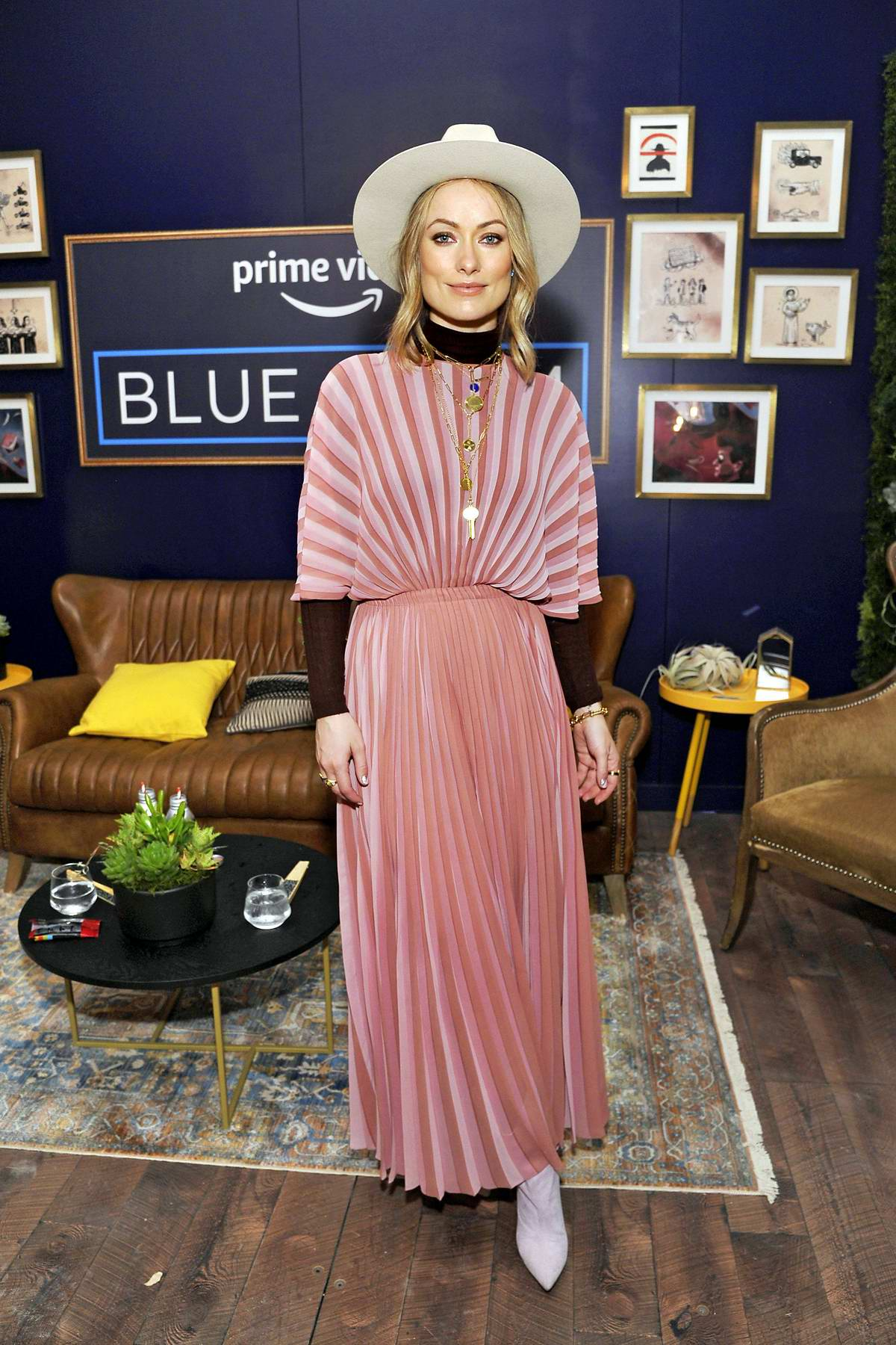 Olivia Wilde attends the Prime Video Blue Room during 2019 SXSW Festival in Austin, Texas