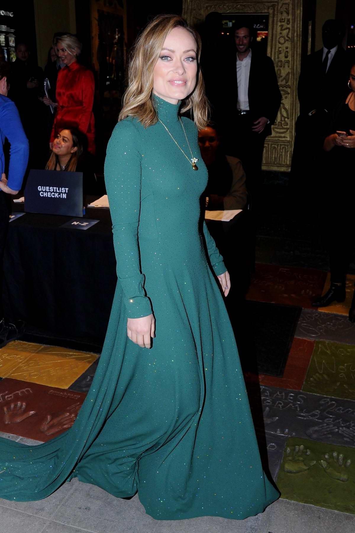 Olivia Wilde attends the Special Screening of 'A Vigilante' in Los Angeles