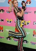Paris Hilton attends Christian Cowan x Powerpuff Girls Runway Show in Los Angeles