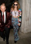 Paris Jackson and Gabriel Glenn at Kathy Hilton's Birthday Party at Mr Chow in Beverly Hills, Los Angeles