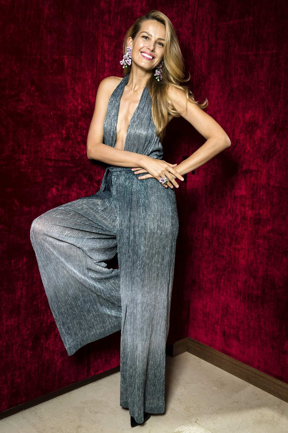 Petra Nemcova attends the Chopard Booth Baselworld in Basel, Switzerland