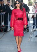 Priyanka Chopra seen leaving 'The View' TV show in New York City