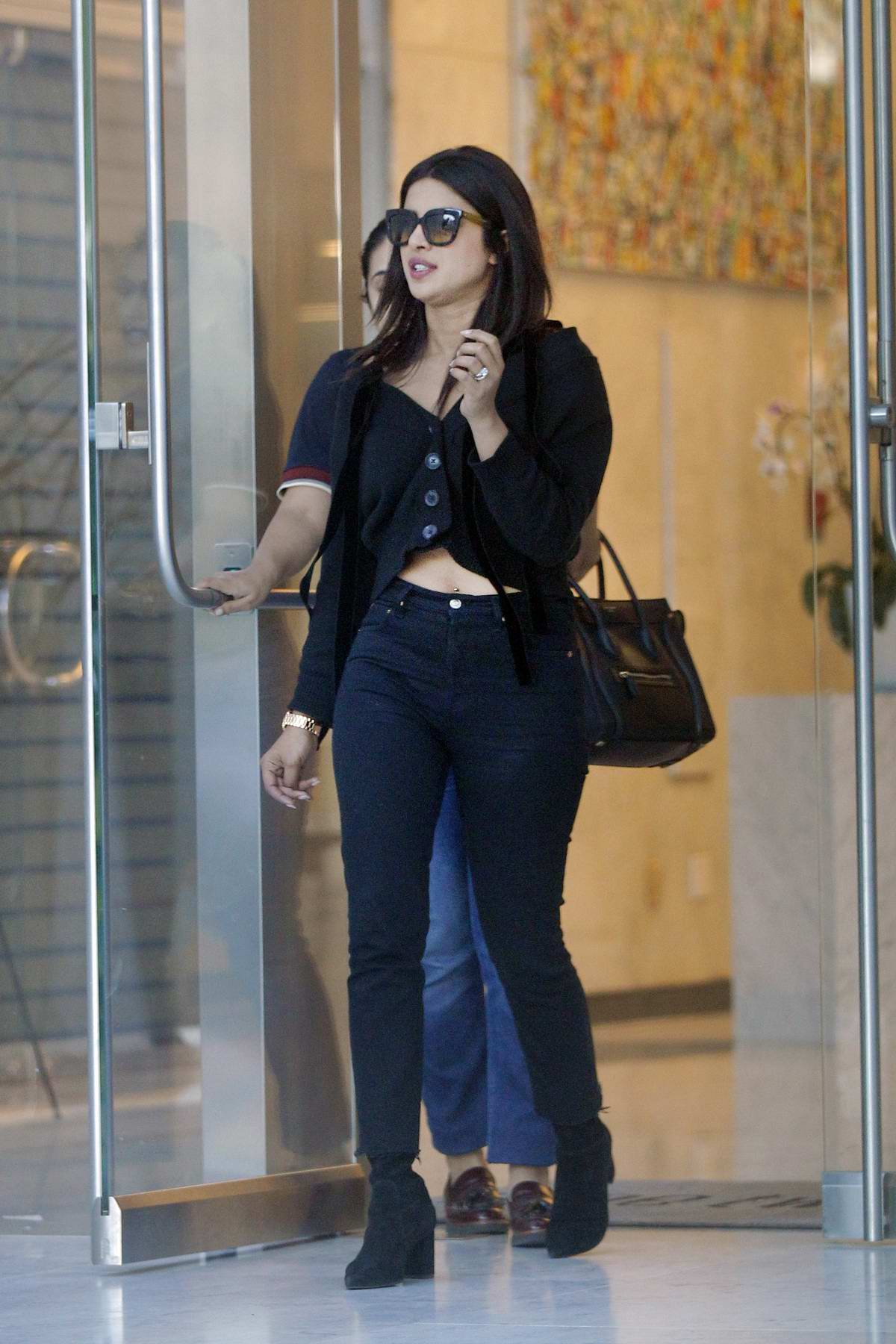 Priyanka Chopra steps out for a business meeting in Beverly Hills, Los Angeles