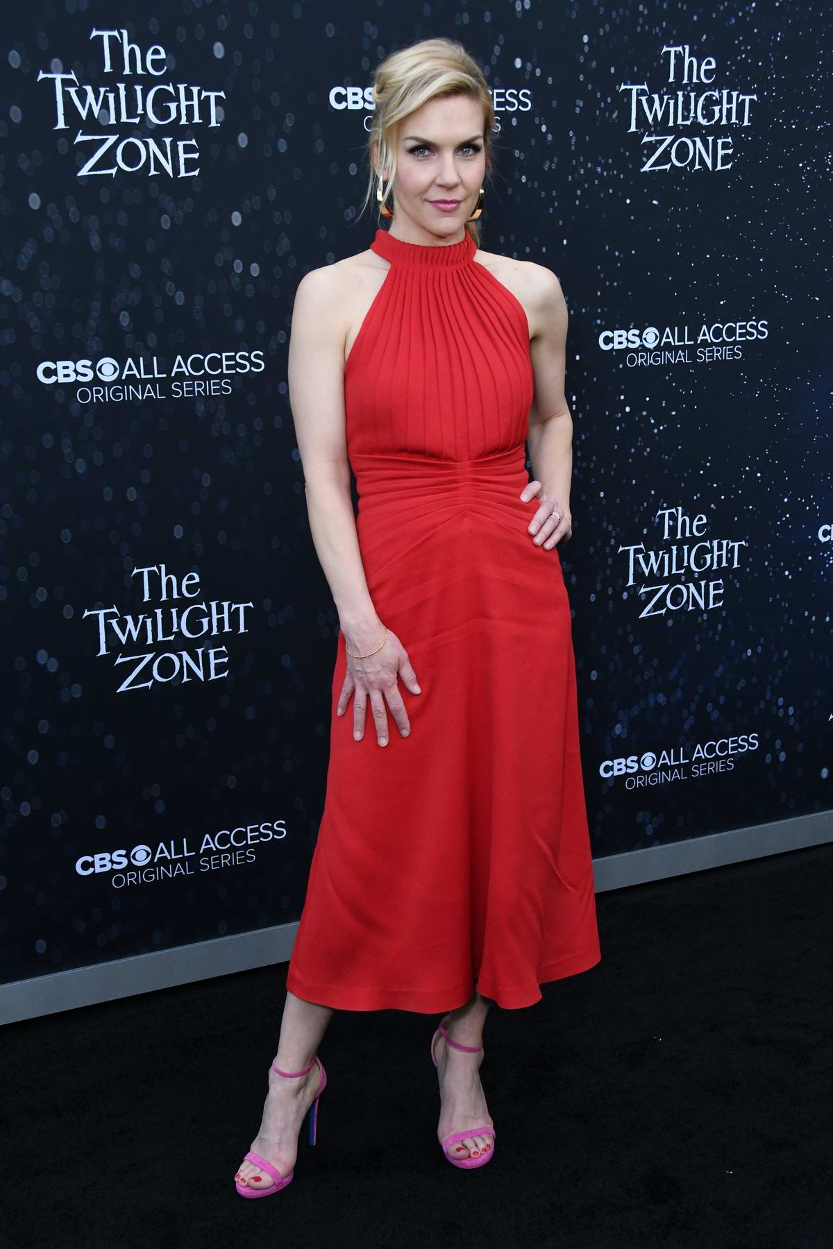Rhea Seehorn attends 'The Twilight Zone' TV show premiere in Los Angeles