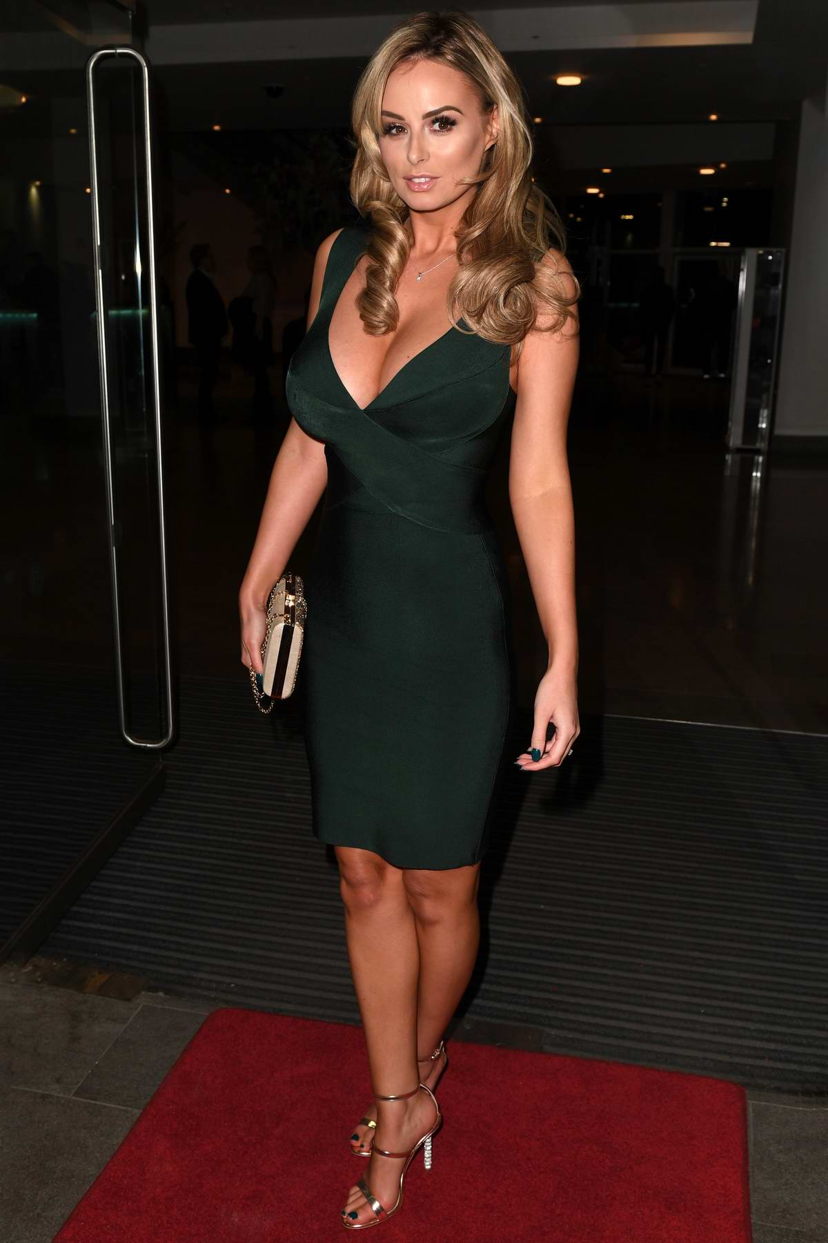 Rhian Sugden attends the Annual Mirror Ball At Lowry Hotel in Manchester, UK