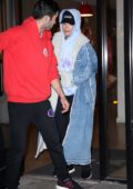Rita Ora keeps a low profile as she leaves the gym in New York City