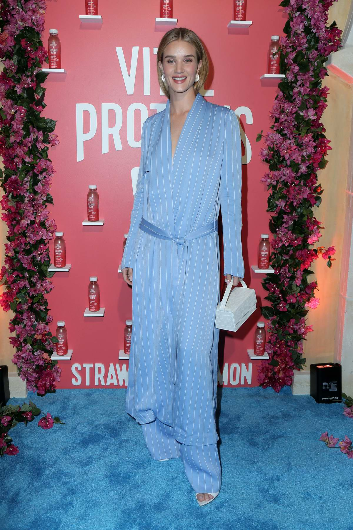 Rosie Huntington-Whiteley attends Vital Proteins' Collagen Water Launch Party in Irvine, California