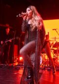 Sabrina Carpenter performs on stage at Irving Plaza in New York City