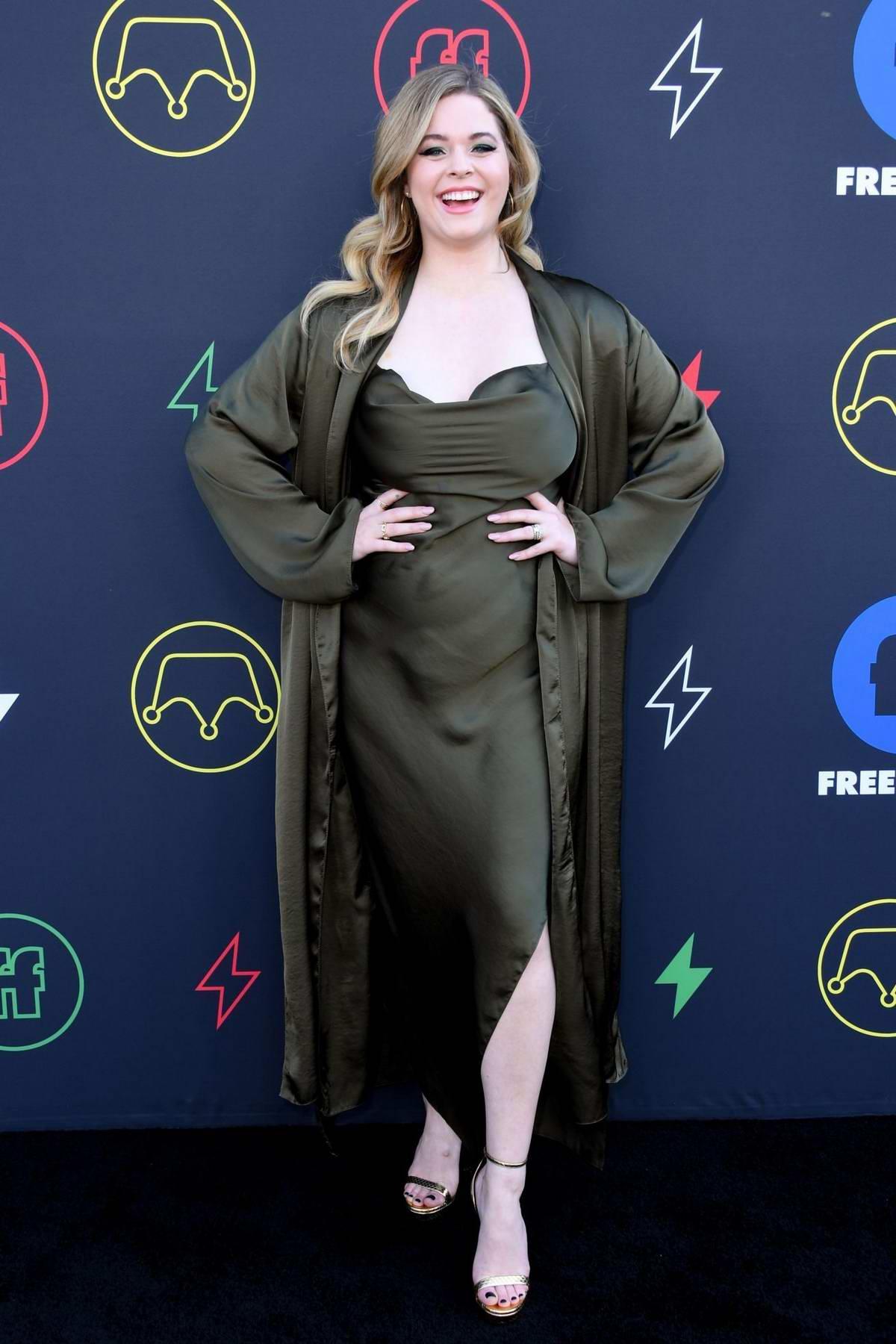 Sasha Pieterse attends the Second Annual Freeform Summit in Los Angeles