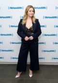Sasha Pieterse visits the SiriusXM Studios in New York City