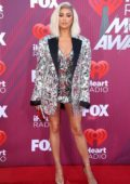 Shay Mitchell attends the 2019 iHeartRadio Music Awards at Microsoft Theater in Los Angeles