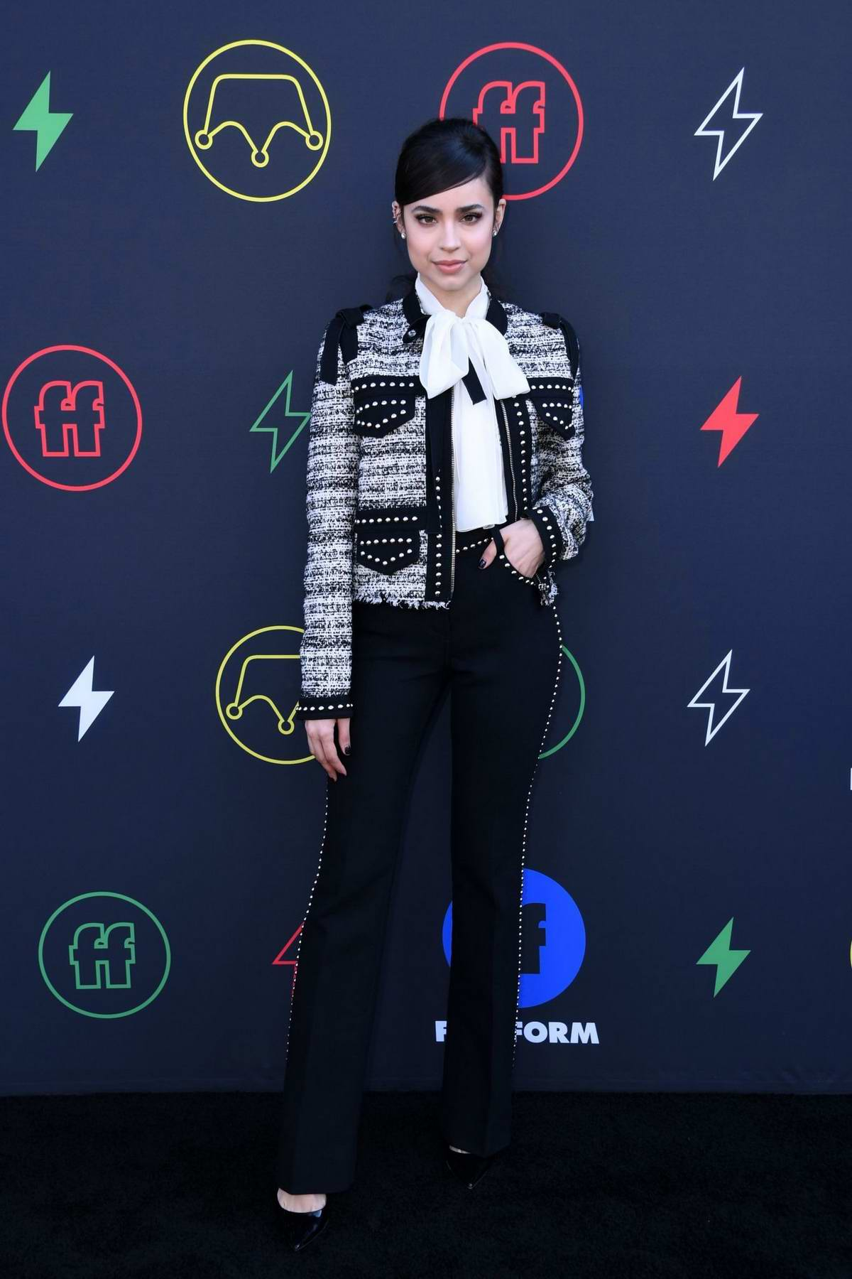 Sofia Carson attends the Second Annual Freeform Summit in Los Angeles