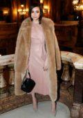 Sofia Carson attends the Stella McCartney show during Paris Fashion Week Womenswear F/W 2019/20 in Paris, France