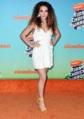 Sofie Dossi attends the Nickelodeon's 2019 Kids' Choice Awards at Galen Center in Los Angeles