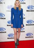 Sophie Turner attends 'Dark Phoenix' Press Line during Wondercon 2019 in Anaheim, California