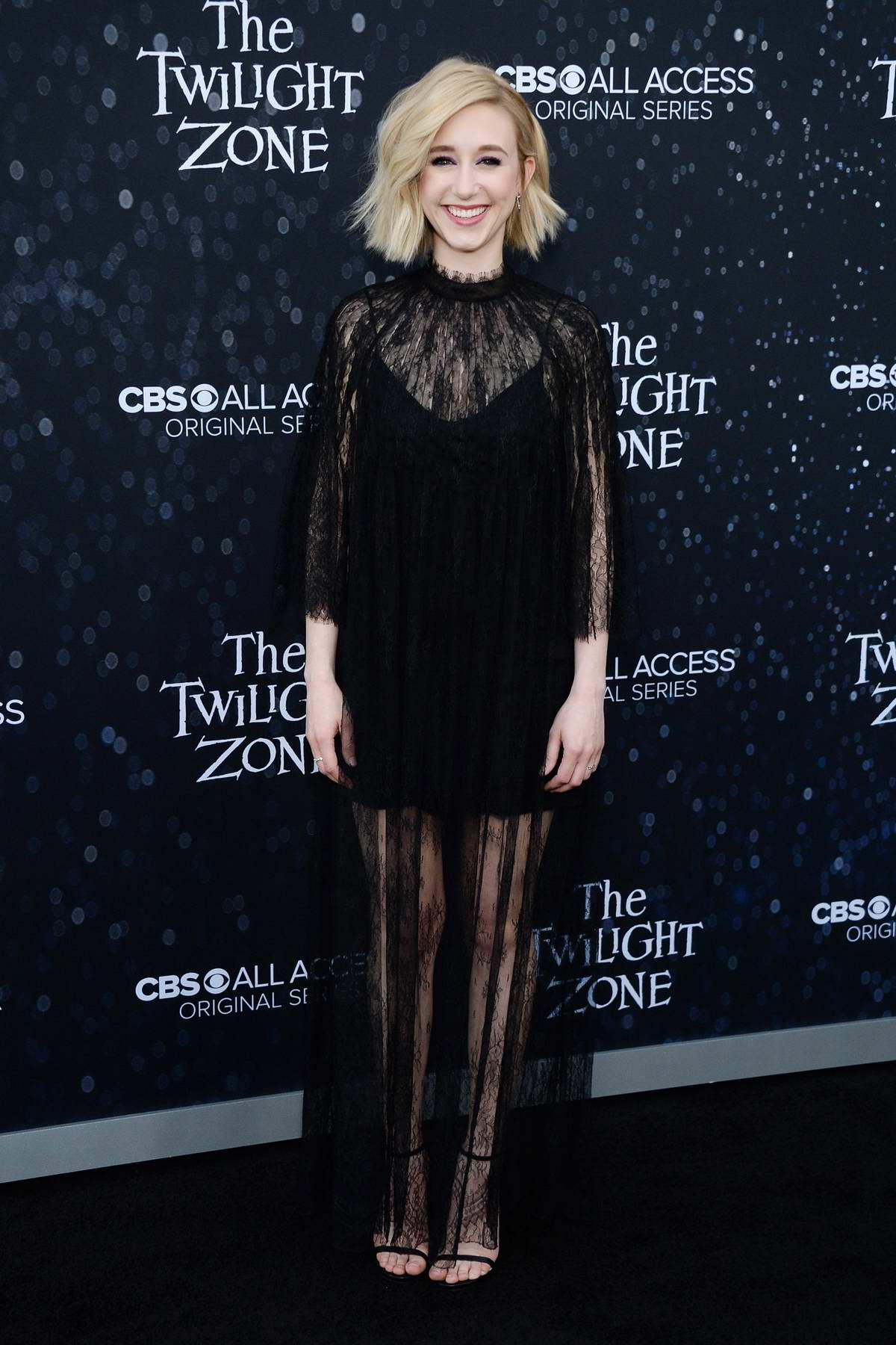 Taissa Farmiga attends 'The Twilight Zone' TV show premiere in Los Angeles