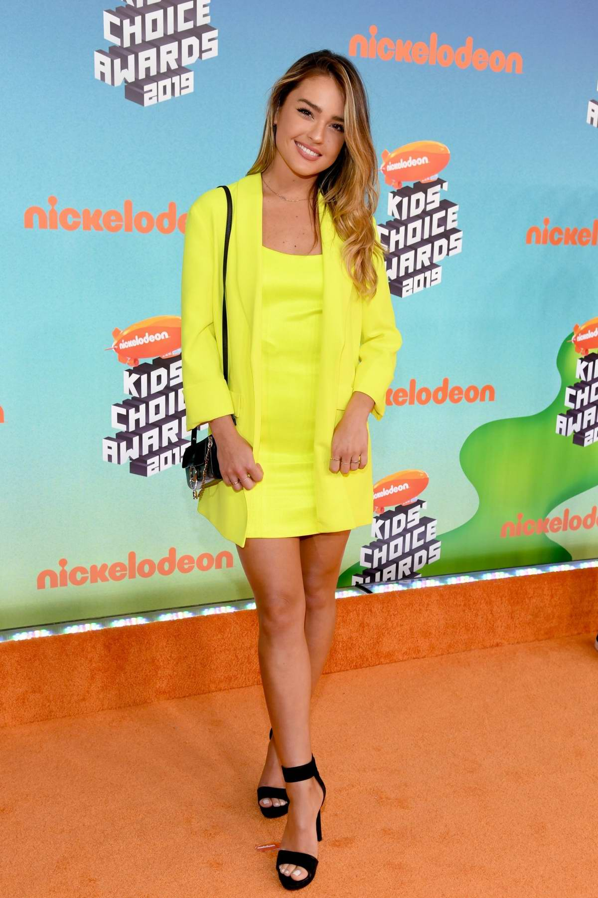 Vale Genta attends the Nickelodeon's 2019 Kids' Choice Awards at Galen Center in Los Angeles