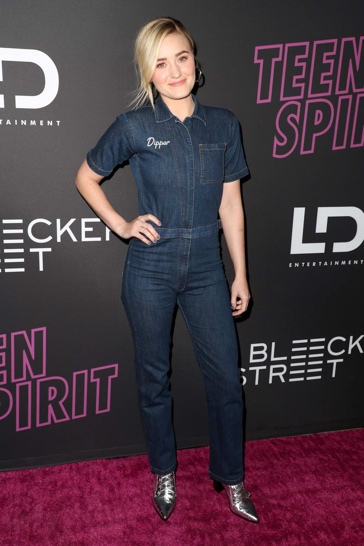 AJ Michalka attends the special screening of 'Teen Spirit' at The Arclight Cinemas in Los Angeles