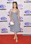 Alycia Debnam-Carey attends 'Fear The Walking Dead' Panel at WonderCon 2019 in Anaheim, California