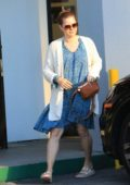 Amy Adams is all smiles as she picks up her daughter Aviana from a martial arts practice in Los Angeles