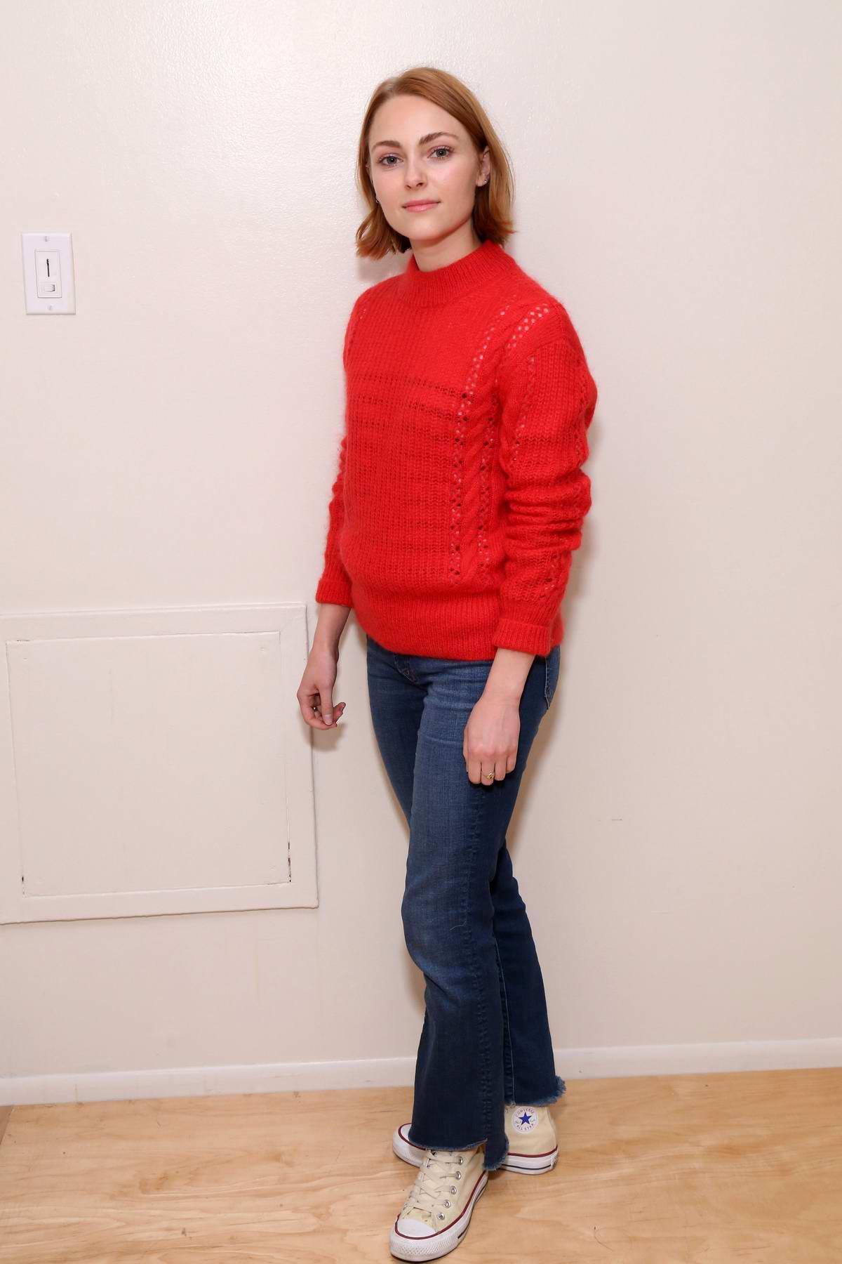 AnnaSophia Robb attends a Photocall All-Female Cast of Mac Beth in New York City