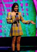 Ariel Winter on stage for WE Day at The Tacoma Dome in Tacoma, Washington