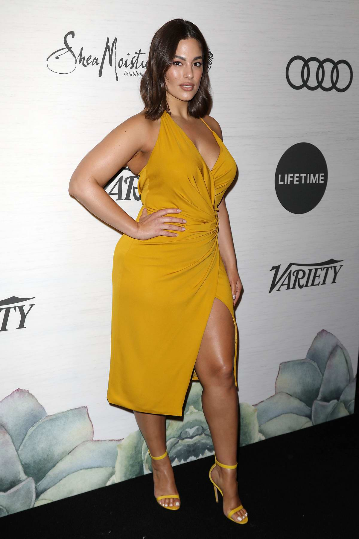Ashley Graham attends the 2019 Variety's Power of Women Presented by Lifetime in New York City