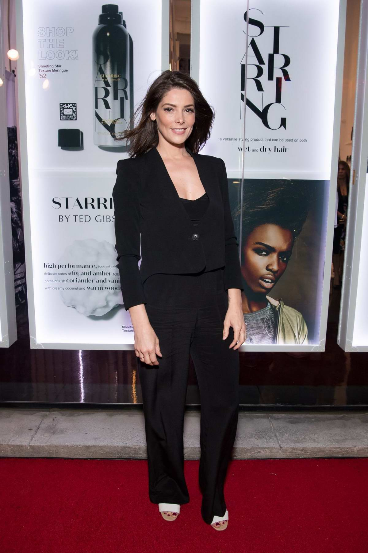 Ashley Greene attends 'STARRING by Ted Gibson' Salon opening in Los Angeles