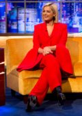 Bebe Rexha makes an appearance on 'The Jonathan Ross Show' in London, UK