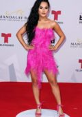 Becky G attends the 2019 Billboard Latin Music Awards at Madalay Bay Events Center in Las Vegas, Nevada