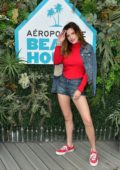 Bella Thorne attends Day 2 of the #AeroBeachHouse by Aeropostale in Malibu, California