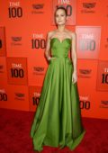 Brie Larson attends the TIME 100 Gala 2019 at Jazz at Lincoln Center in New York City