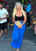 Brooke Hogan spotted leaving the Ciroc Summer House Coachella Party in Palm Springs, California