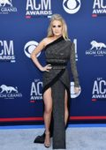 Carrie Underwood attends the 54th Annual ACM Awards at MGM Grand in Las Vegas, Nevada